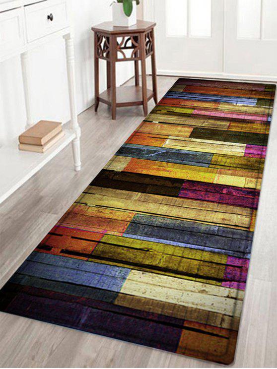 غني بالوان، برميل، الأرضيات، إقتدى، امتصاص الماء، دائرة، بطانية - مزيج ملون W24 بوصة * L71 بوصة