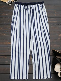 Stripes Narrow Feet Ninth Pants - Stripe M