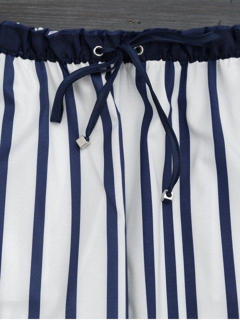 hot Stripes Narrow Feet Ninth Pants - STRIPE S Mobile