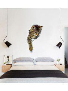 Cat Animal Bathroom Bedroom Decor Wall Sticker