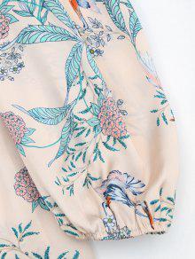 De Floral Cami De Blusa Impresi Floral S 243;n qZEwS