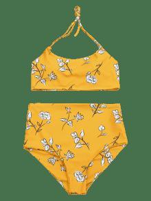 8157cd666f16e 21% OFF  2019 Slimming Control High Waisted Bralette Bikini Set In ...