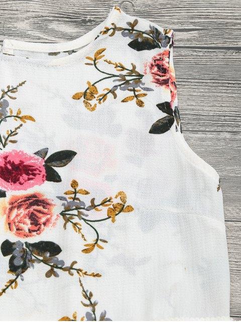 Ensemble de Shorts floraux pour imprimé floral - Blanc Cassé S Mobile