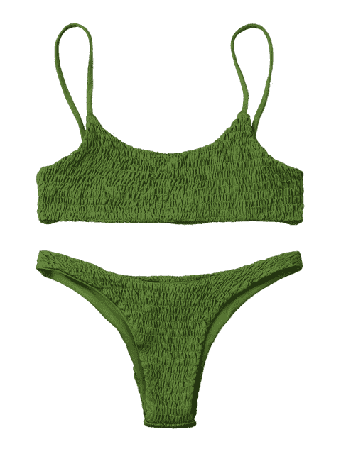 Top et bas de bikini en béton - Herbe Verte S Mobile