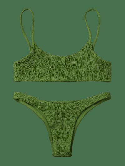 Smocked Bikini Top and Bottoms2