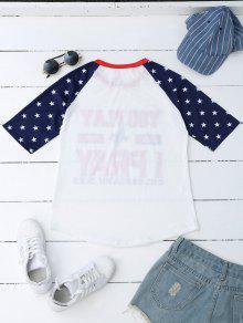 La Camiseta Manga Del Ragl De xppT0