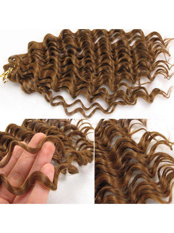 Pre Loop Wand Curl Crochet Hair Extensions Golden Blonde Wigs Zaful