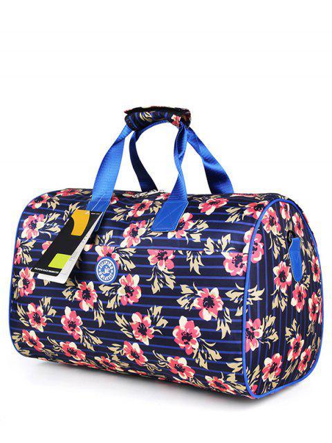 Nylon impreso gimnasio bolsa - Azuly Rosa  Mobile