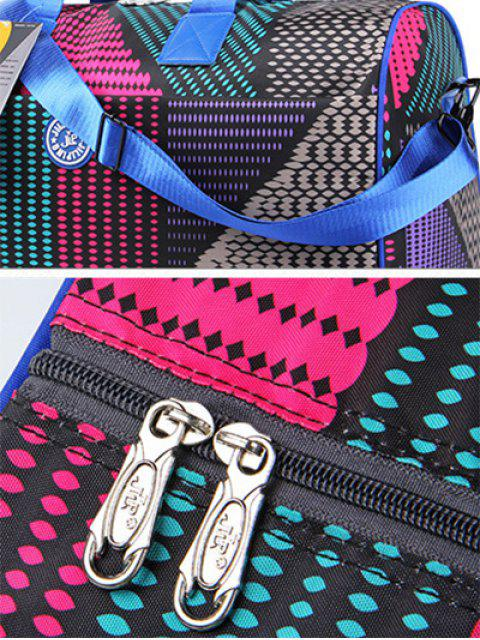 buy Nylon Printed Gym Bag - COLORMIX  Mobile