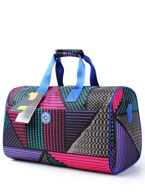 buy Nylon Printed Gym Bag - COLORMIX  Mobile