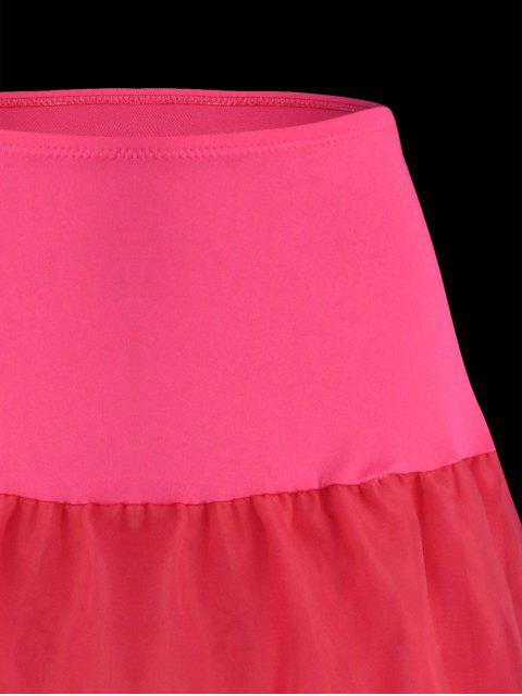 new Flounce Light Up Cosplay Skirt - TUTTI FRUTTI L Mobile
