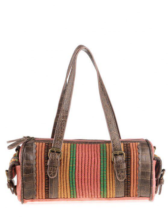 اسطوانة القبلية على شكل قماش حمل حقيبة - البطيخ الأحمر