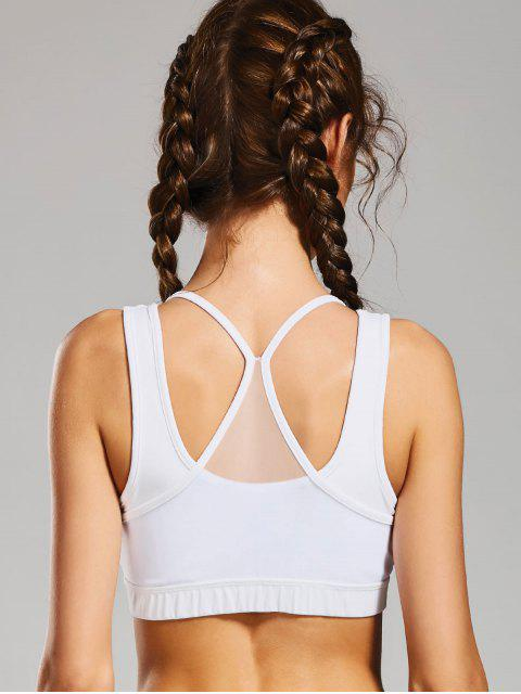 Sudadera Sporty Bra - Blanco L Mobile