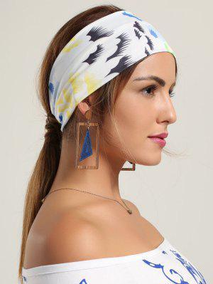 Sport Stirnband mit Mehrfarben Muster