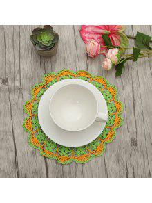 Round Table Placemats.Crochet Cotton Lace Round Table Placemats