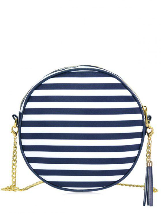Cadeia Tassel Canteen Cross Body Bag - Azul