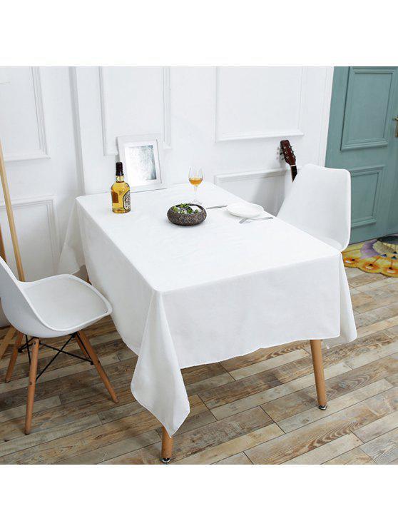 المطبخ المنتج الكتان الجدول القماش - أبيض W55 بوصة * L78 بوصة