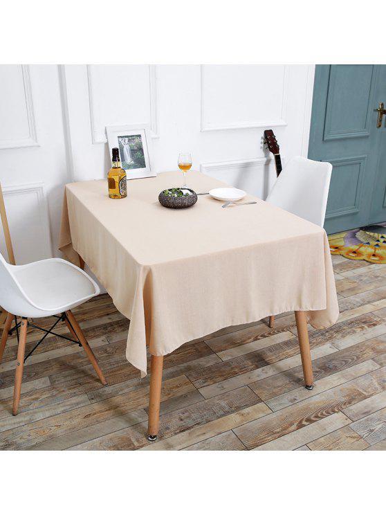 الكتان الجدول القماش للمطبخ - اللون البيج W55 بوصة * L78 بوصة
