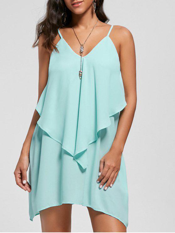 فستان مثير شيفون كامي - مكان صنع المال XL