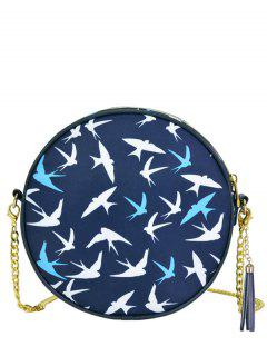 Cuello De Cadena De Canteen Cross Body Bag - Azul Profundo