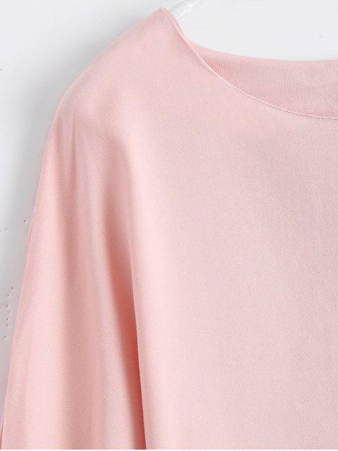 T-shirt à manches longues bas - ROSE PÂLE M Mobile