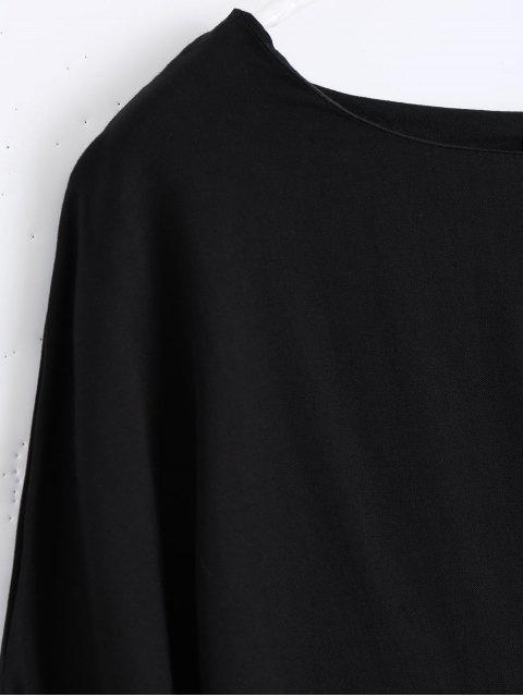 T-shirt à manches longues bas - Noir M Mobile