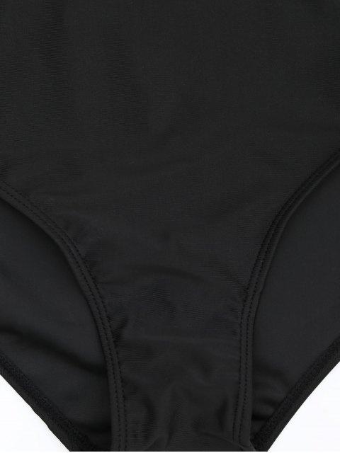 women's Padded Bandeau Tankini Bathing Suit - PURPLE 4XL Mobile