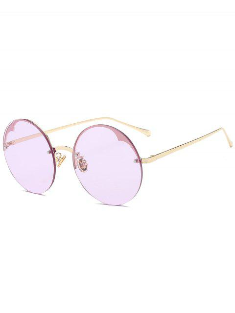 new Round Semi-rimless Sunglasses - RADIANT  Mobile