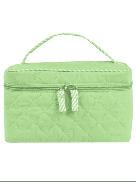 Sac cosmétique à manchette matelassée - Vert clair  Mobile