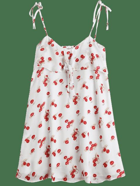 Robe miniature découpée à la cerise - Multicouleur S Mobile