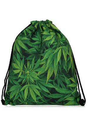 Nylon Printed Drawstring Bag