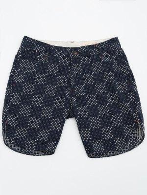 Pantalones Cortos Bordados Para Hombre De Bermudas - Marina De Guerra 36