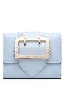 مشبك حزام تريفولد محفظة صغيرة - الضوء الأزرق