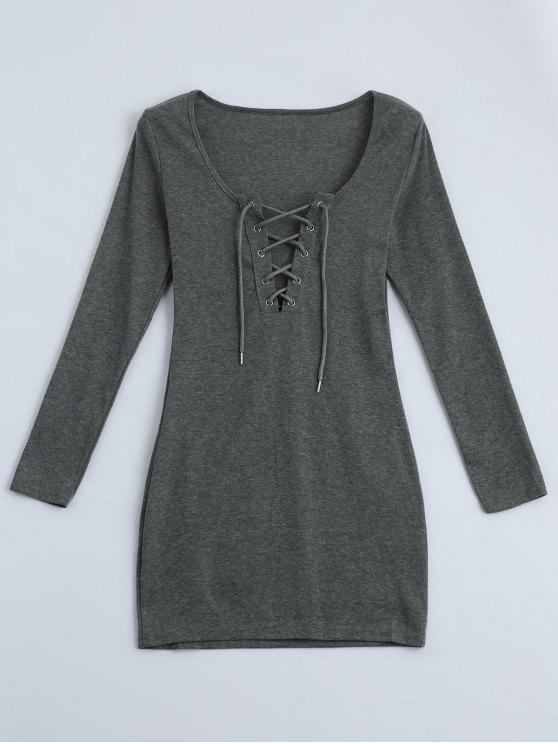 Robe ajustable - Gris S