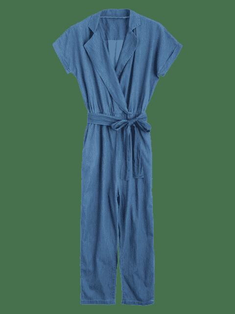 Combinaison Denim Belt Stratifiée - Denim Bleu M Mobile