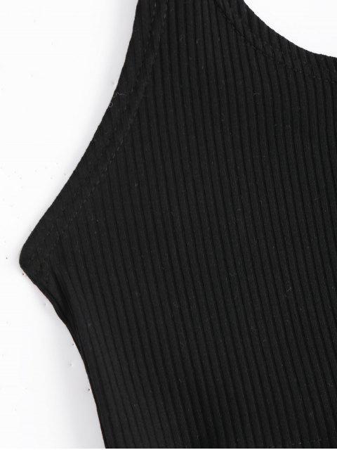 Hauteur de caillebotis Halter Criss Cross - Noir S Mobile