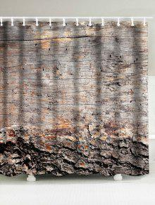 خمر للماء الخشب الحبوب دش الستار - خشب W71 بوصة * L79 بوصة