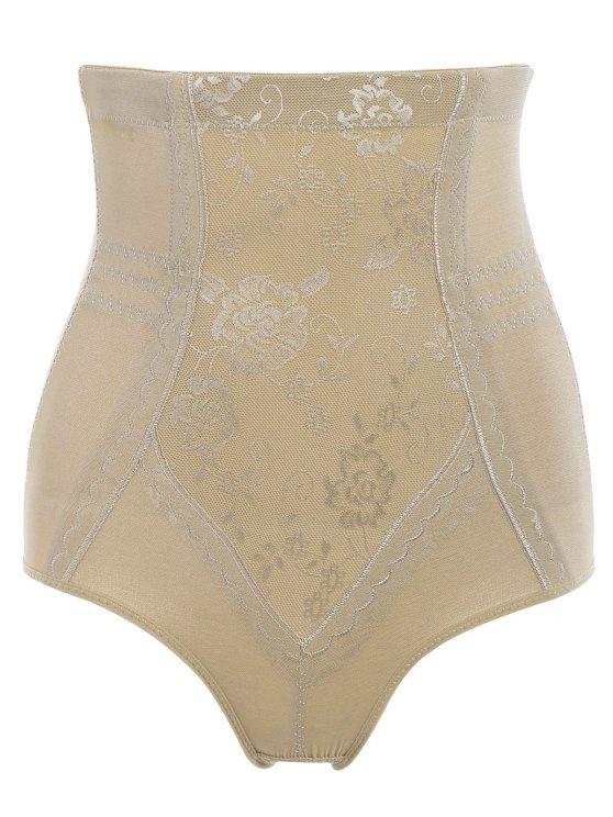 chic Tummy Control Shapewear Corset Briefs - COMPLEXION M