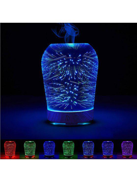 الألعاب النارية اللون تغيير 3D المرطب ضوء الليل - ملون
