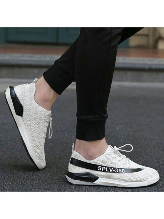 enjoy cheap price Mesh Breathable Colour Block Casual Shoes - Black 43 factory outlet sale online cheap sale classic PoPxw