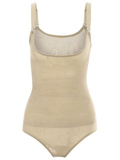 Tummy Control Corset Bodysuit Body Shaper - Complexion M