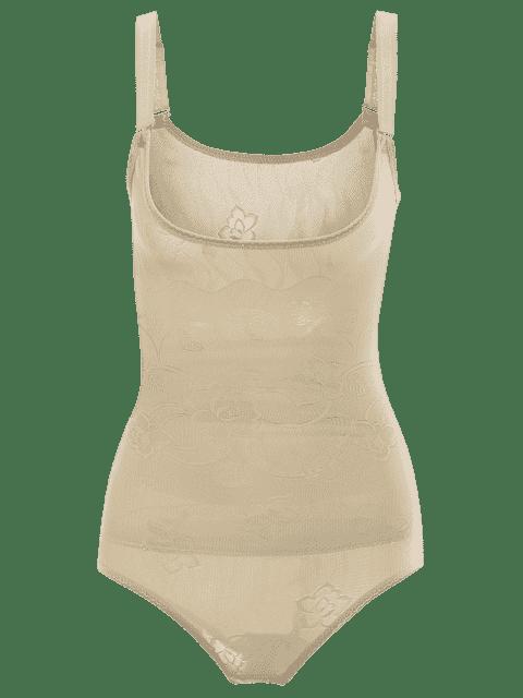 lady Tummy Control Corset Bodysuit Body Shaper - COMPLEXION L Mobile