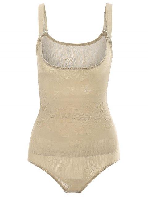 Tummy Control Corset Bodysuit Body Shaper - Teint S Mobile