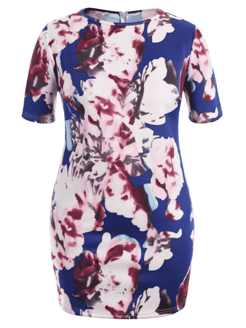 Robe Bodycon - Floral XL Mobile