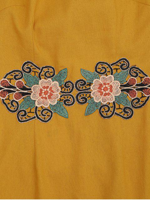 shop Floral Patched Cami Dress - GINGER S Mobile