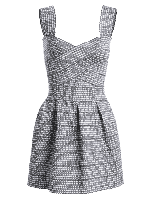 latest Sweetheart Neck Puffball Mini Dress - BLACK ONE SIZE Mobile