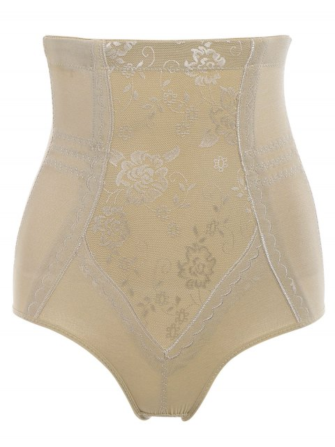 latest Tummy Control Shapewear Corset Briefs - COMPLEXION 2XL Mobile