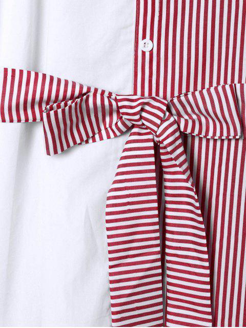 Blouson à rayures d'épaule - Rouge 2XL Mobile