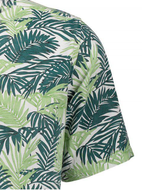 Chemise à manches longues à manches longues - Floral L Mobile