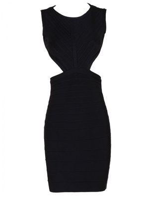 Halter Open Back Bodycon Bandage Dress